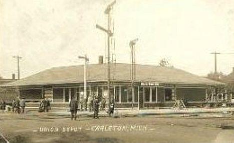 Tower Credit Union >> michiganrailroads.com - Carleton, MI
